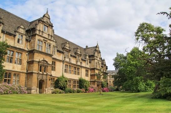 Trinity College à Oxford