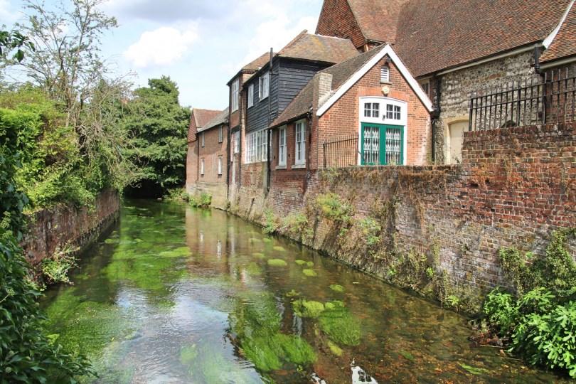 Canterbury sur la Stour