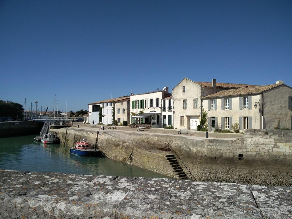 Dans le port de Saint Martin de Ré