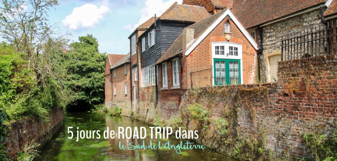 Itinéraire de 5 jours de road trip dans le sud de l'Angleterre