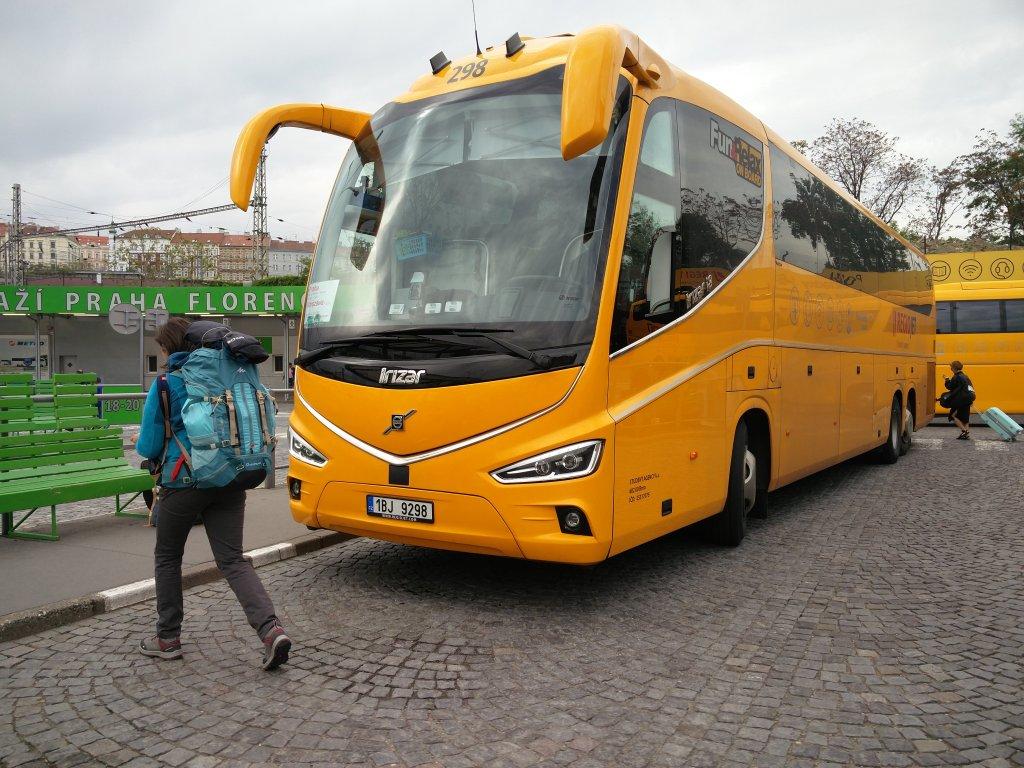 Bus Regiojet pour Varsovie en Europe