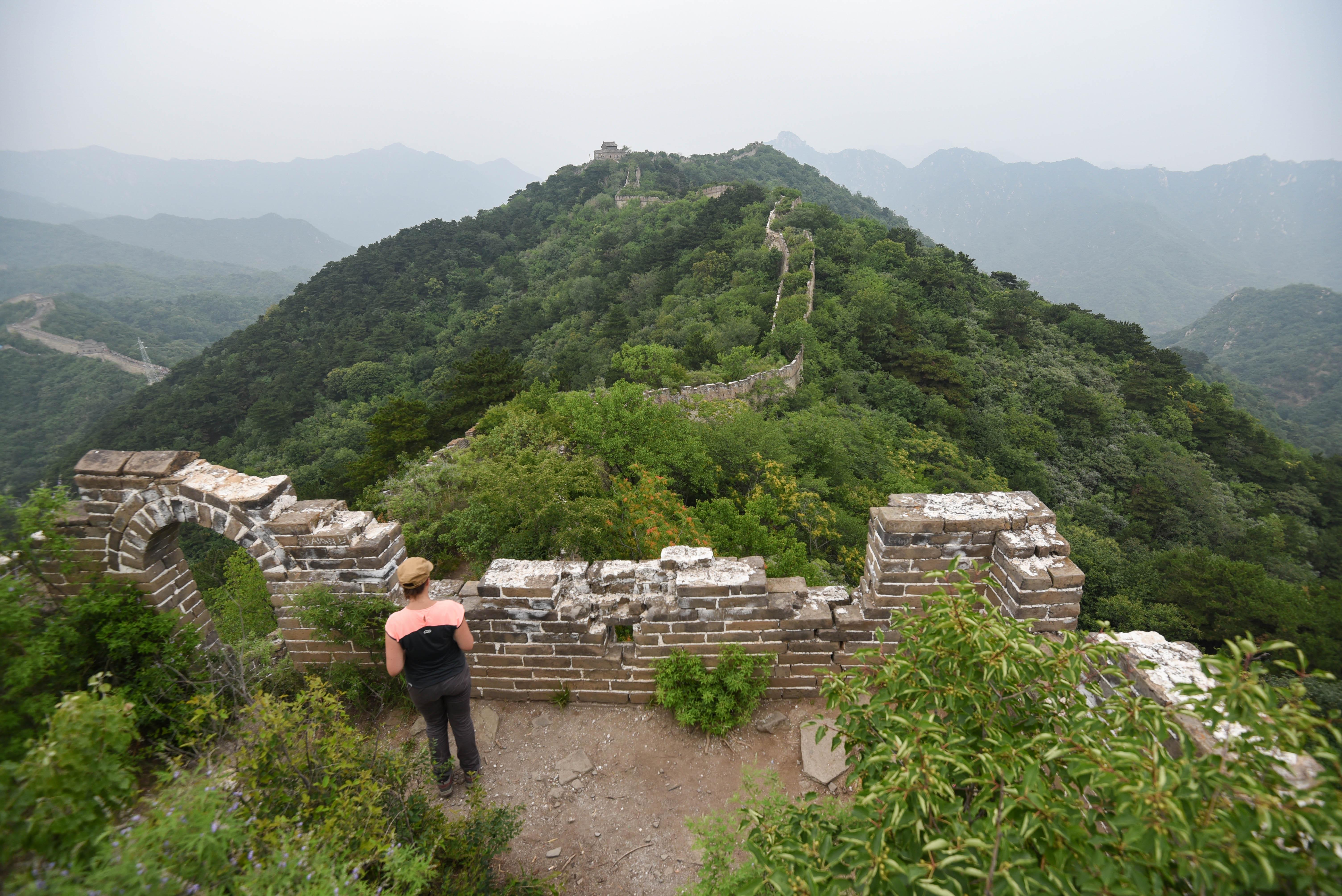 Se rendre sur la partie abandonnée de la Grande Muraille de Chine @newyes