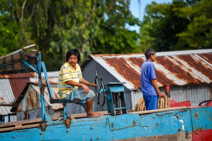 Le Mékong pour se rendre au Cambodge depuis le Vietnam @neweyes