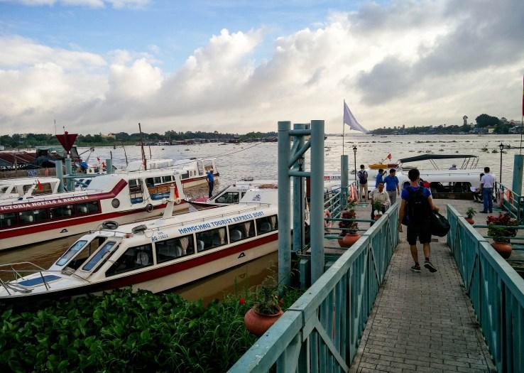 Choisir le bateau pour se rendre au Cambodge depuis le Vietnam @neweyes