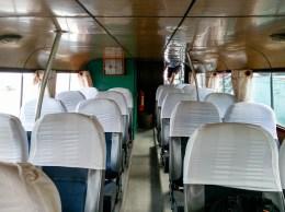 Le bateau dans lequel nous avons traversé la frontière du Cambodge @neweyes