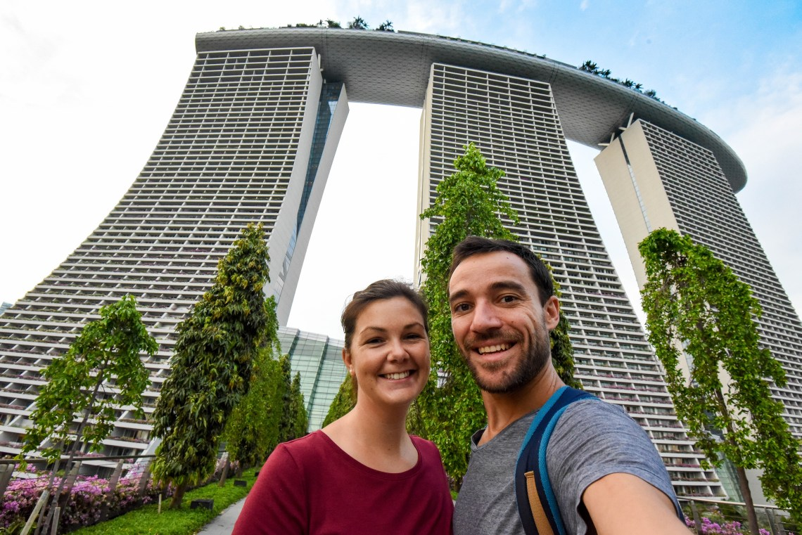 Trajet France - Singapour, mission accomplie @neweyes