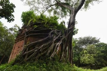 Ruines de temples à Sambor Prei Kuk, Cambodge