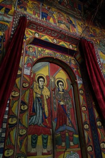 Paintings in Bet Maryam.