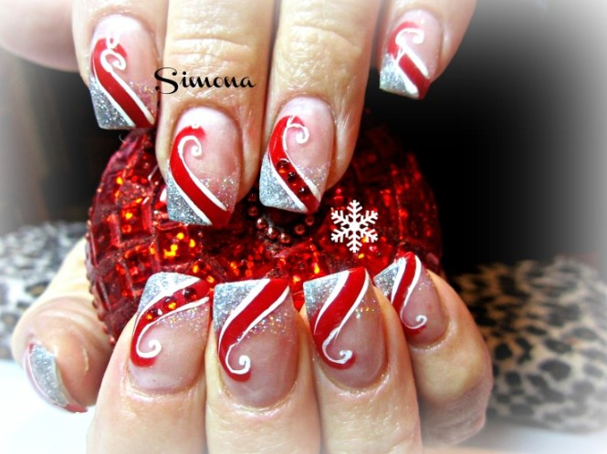 Best Easy Simple Christmas Nail Art Designs Ideas 05