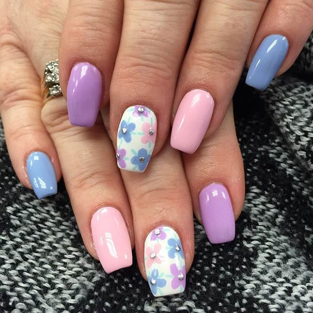 70 Cool Summer Nail Art Designs 2017