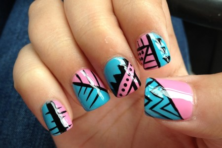 Simple Tribal Nail Art 4k Pictures 4k Pictures Full Hq Wallpaper