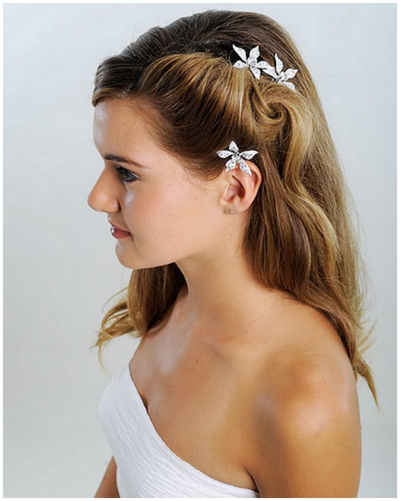 Fabulous Eid Hairstyle 2015 For Young Girls Hairstyles For Women Draintrainus