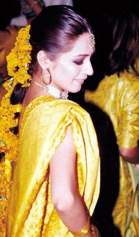 Pakistani Bridal Hairstyle Amp Dresses For Mehndi Day