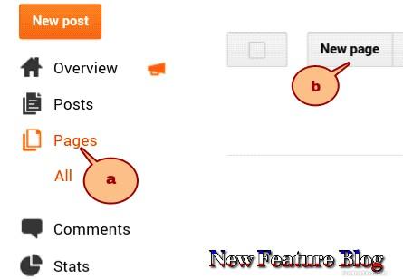 newfeatureblog.com privacy setting