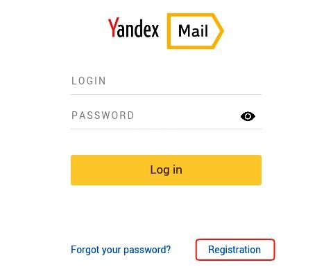 click on registration