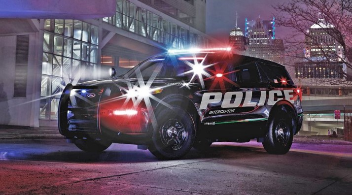2020 Ford Interceptor Exterior