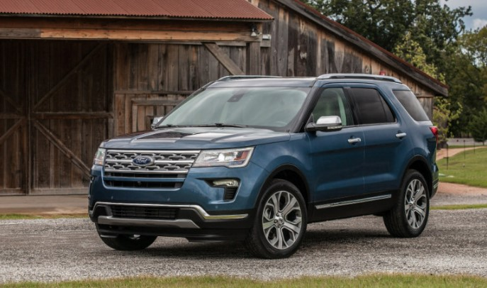 2019 Ford Explorer Limited Exterior