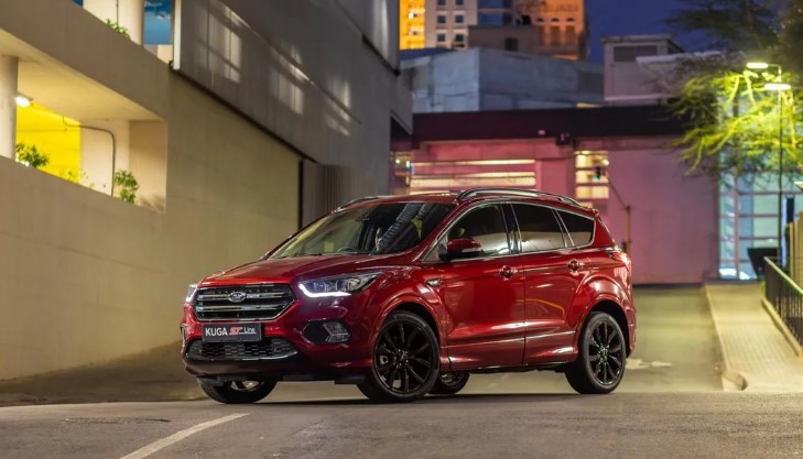 new 2019 ford kuga st line edition  review  price