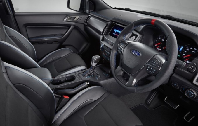 2022 Ford Ranger Interior