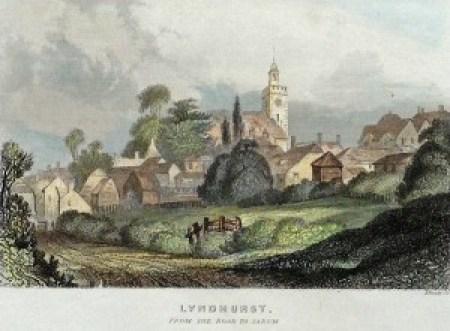 lyndhurst's royal links