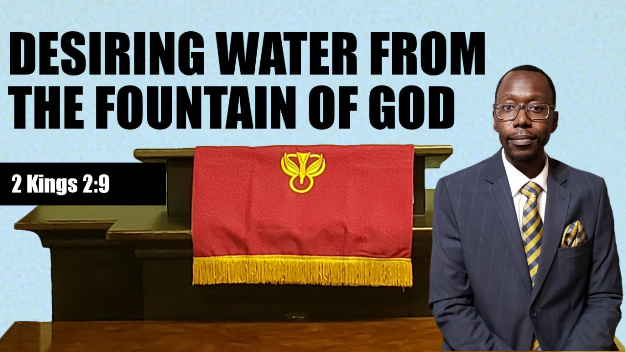 Fountain of God Banner