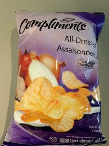 Compliments All Dressed chips