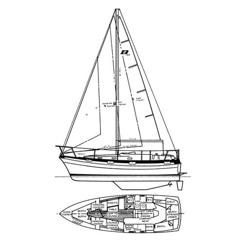 Illustration of a Buccaneer 325