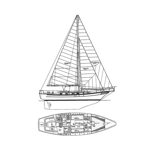Illustration of a Cabo Rico 38