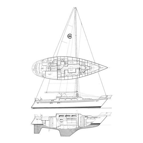 Illustration of a Cal 44