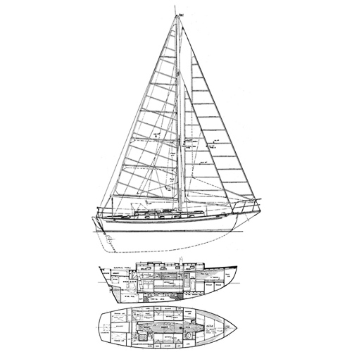 Illustration of a Cape George 31