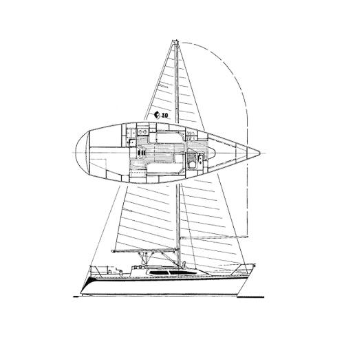 Illustration of a CS 30