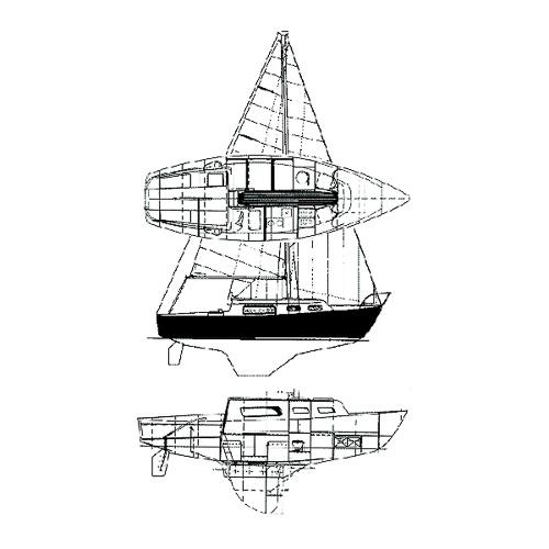 Illustration of a Grampian 26