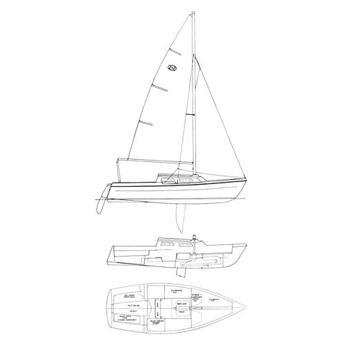Illustration of a Newport 212