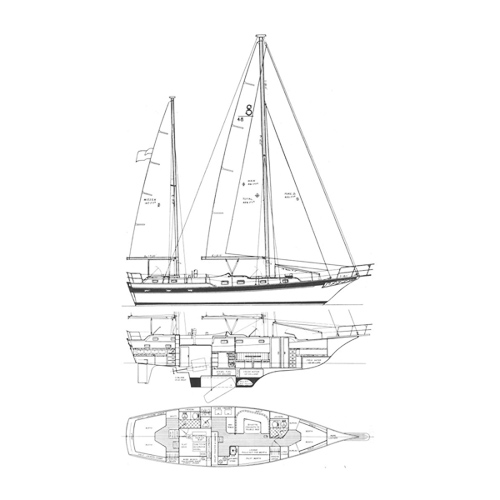 Illustration of a Soverel 48