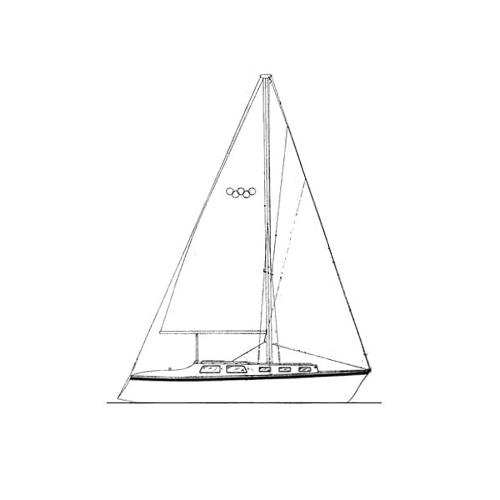 Illustration of a Yorktown 35
