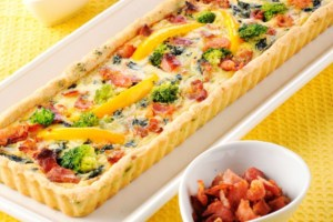 Bacon Broccoli Quiche Recipe