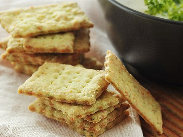 Herb Parmesan Crackers