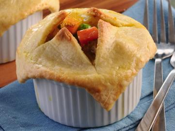 Mini-Vegetarian Curried Pot Pies