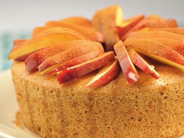 Whole Wheat Chiffon Cake