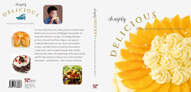 Simply Delicious Cover FrontBack