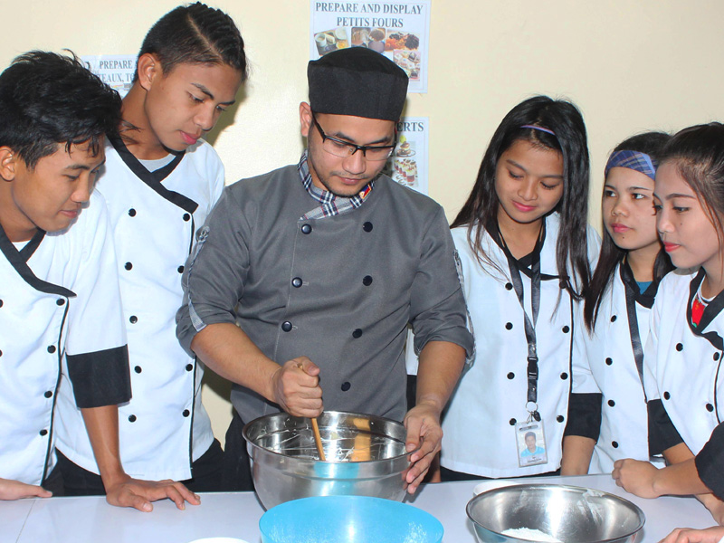 Zaldy Ramos Jr. – From Cookery to Baking