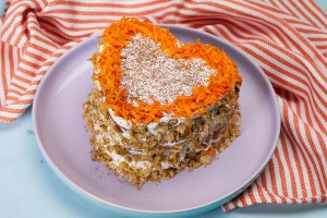 Pineapple Carrot Walnut Cake