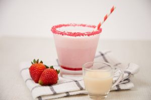 Strawberry Ice Cream Yakult Slush