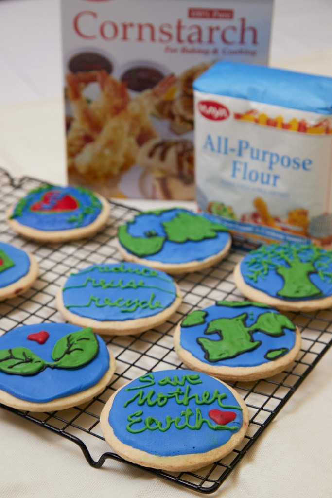 Earth Day Cornstarch Cookies
