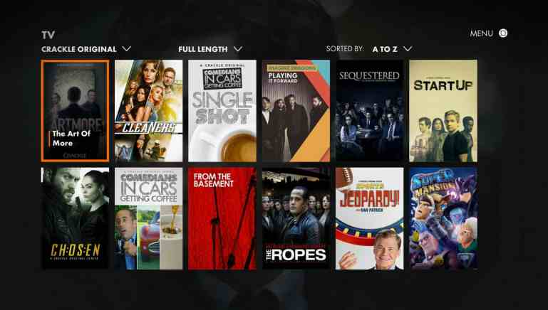 CRACKLE - 16 Free New Release Movie Stream Sites No Sign Up