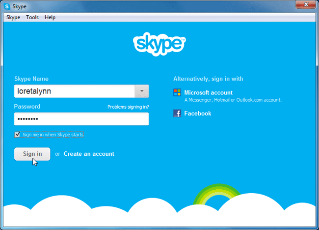 How to Setup Skype Account In A Minute|