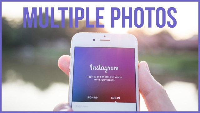 Upload & Delete Multiple Instagram Photos On iPhone