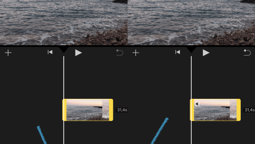 iPhone video sounds Removed/mute on iMovie online