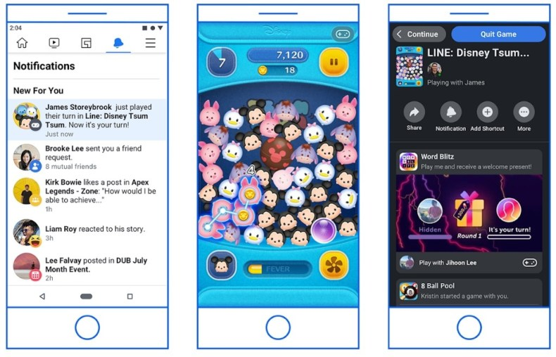Play Games on Facebook Messenger
