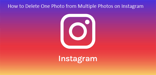 How to Delete One Instagram Picture